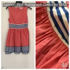 salmon pink autograph dress by m s