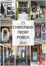 25 best christmas front porches ideas