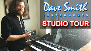 DAVE SMITH INSTRUMENTS (DSI) - SYNTH STUDIO & OFFICE TOUR - YouTube