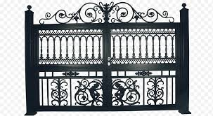 Summer White Gate Drawing Fence Summer Garden 2018 Diary Iron Png Nextpng
