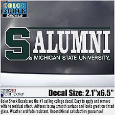 Michigan State License Plate Frame Msu Decals Car Mats