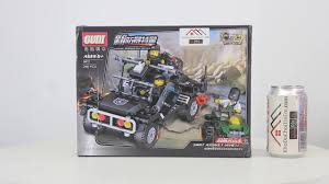 Mở hộp Gudi 9411 Lego Army Military MOC SWAT Assault Vehicle giá ...