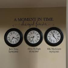Amazon Com A Moment In Time Changed Forever Vinyl Wall Decal By Wild Eyes Signs Photo Picture Wall Sticker Lettering With Names And Dates Custom Read Product Description Below For Size Hh2147 Handmade