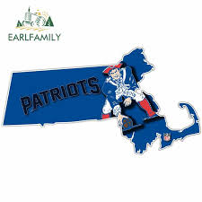 Football Nfl New England Patriots Home State Sticker Vinyl Die Cut Decal Auto Home Football Sports Mem Cards Fan Shop Cub Co Jp