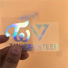 Kpop Blackpink Got7 Seventeen Twice Jb Mark Bambam Jisoo Jennie Lisa Jackson Laser Decals Lightstick Laptop Sticker Decor Buy At The Price Of 0 74 In Aliexpress Com Imall Com