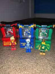 finally got lloyd's arcade pod today. i can happily say i have all 3 now :  Ninjago