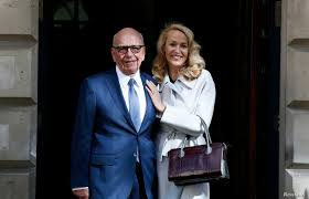 Rupert Murdoch Weds Jerry Hall in London   Voice of America - English