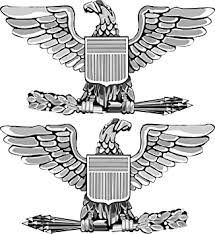 Amazon Com Us Army Colonel Rank Insignia Vinyl Transfer Decal Sticker 3 8 Automotive