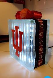Iu Indiana University Basketball Glass Block Light Sport Light Decor Vinyl Decal By Sponselcrafts On Etsy Glass Blocks Glass Vinyl Decals