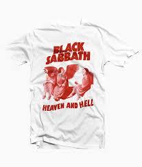 black sabbath t shirt heaven and
