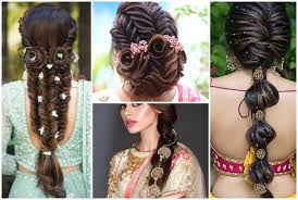indian bridal hair and makeup ideas for