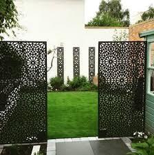 Moucharabiya Large Garden Screen Garden Privacy Screen Metal Garden Screens Garden Screening