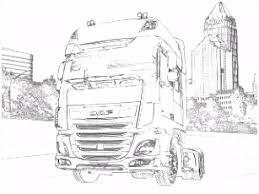 Buntute Rodo Oren Sitik Vrachtwagen Daf Xf Kleurplaat