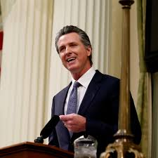 California Gov. Gavin Newsom's State of ...