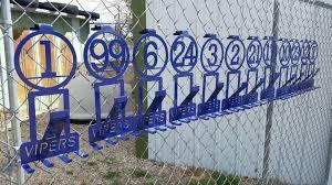 Custom Softball Baseball Equipment Hangers