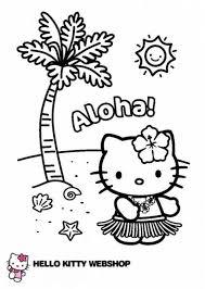 Klik Hier Om De Hello Kitty Kleurplaat Te Downloaden Hello