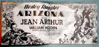Wesley Ruggles' Arizona; Starring Jean Arthur, with William Holden .and a  Cast of Thousands (bound in copper) by Ruggles, Wesley: First Edition. |  Alcuin Books, ABAA