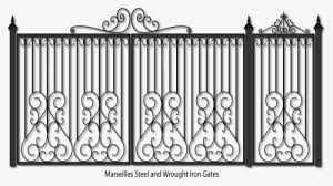 Transparent Fence Clipart Iron Fence Png Png Download Kindpng