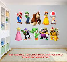 Kindermobel Wohnen Mario Sticker Wall Decal Or Iron On Transfer Tshirt Fabrics Bowser Donkey Kong Maybrands Com Ng