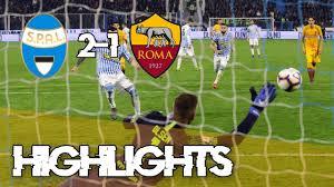 SPAL 2-1 ROMA