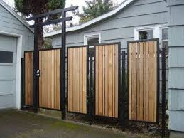 80 Awesome Modern Garden Fence Design For Summer Ideas 36 Fence Design Metal Fence Panels Modern Fence