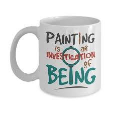 painting is an investigation of being quotes graphic