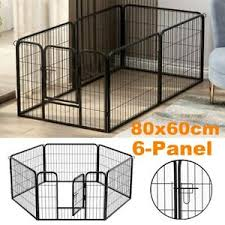 Small Animal Cages Enclosures Pet Cage Metal Playpen 8 Panel Dog Cat Rabbit Play Pen Wire Run Fence Enclosures Pet Supplies Oakridgebiblechapel Org