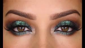 sea green spotlight prom makeup