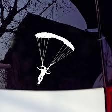Hotmeini Car Sticker Jdm Styling Window Bumper Decal Vinyl Truck Fridge Waterproof Skydiving Parachute 15cm Stickers Jdm Car Stickercar Sticker Jdm Aliexpress