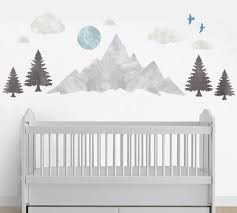 Mountains Eco Wall Decals
