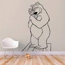 Masha And The Bear Wall Decal Kuarki Lifestyle Solutions