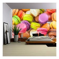 Wall26 Traditional French Colorful Macarons In A Box Removable Wall Mural Self Adhesive Large Wallpaper 66x96 Inches Walmart Com Walmart Com