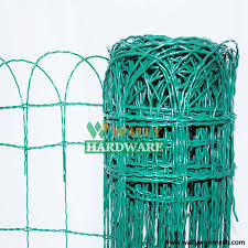 pvc coated lawn edging wire mesh
