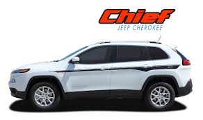 Jeep Cherokee Side Decals Jeep Cherokee Side Stripes Chief