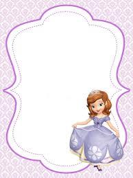 La Princesita Sofia Cumpleanos Princesa Sofia Princesa Sofia Y