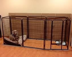 Pin By Kristen Buzzelli On For The Pups Dog Playpen Luxury Dog Kennels Dog Kennel