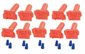 In Ground Dog Fence Boundary Wire Splice Connectors For 20 And 18 Gauge 10 Pack Ebay