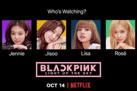 BLACKPINK: Light Up the Sky' documentary to be released exclusively on  Netflix - Starbiz