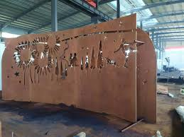 Customized Corten Steel Plate For Screen Fence Manufacturers Suppliers Factory Direct Price Anhuilong