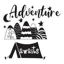 Shop Mountain Decal Kids Adventure Awaits Boys Nursery Wall Decal Overstock 32026864