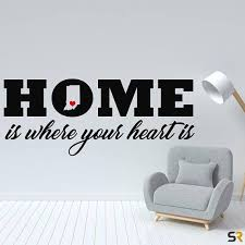 Indiana Decalindiana Stickerindiana Home Is Where Your Heart California Wall Decal Wall Decals Michigan Decal