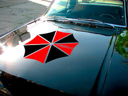 Buy Umbrella Corporation Hood Evil Zombie Outbreak Response Team Car Decal Sticker