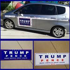 2020 Car Decals Donald Trump For President Make America Great Again Bumper Sticker Exterior Accessories K5782 From Linql03 0 2 Dhgate Com