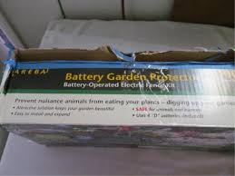 Zareba Battery Garden Electric Fence Kit
