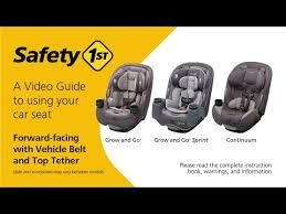 grow and go convertible car seat