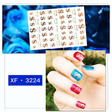 New Nail Decoration Stickers On The Nails Accessoires Gold Decal Dollar Sticker Art For Manicure Self Adhesive Design Sticker Leather Bag