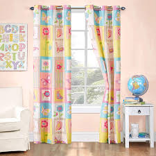 Amazon Com Kids Zone Home Linen 2 Panel Curtain Set With Grommet For Boys Girls Teens Bedroom Multicolor Set Butterfly Flowers Pink Purple Blue Yellow White New Kitchen Dining
