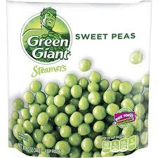 green giant steamers sweet peas 12 oz