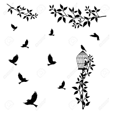Wall Decal To Decorate Home And Bedroom Wall Sticker Concept Royalty Free Cliparts Vectors And Stock Illustration Image 130046879