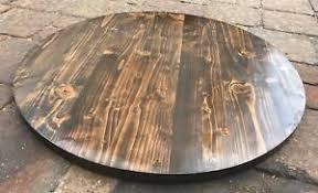 reclaimed wood 30 round table top bar